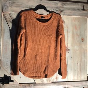 Express camel colored sweater